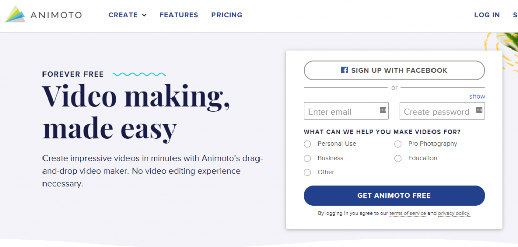 animoto promo maker 2021