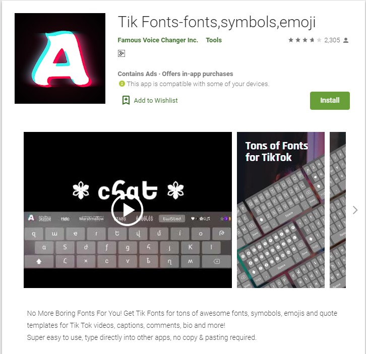 Download Tik Tok Logo With Font PNG Image for Free