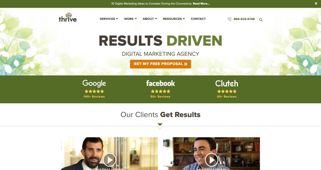 thrive digital marketing