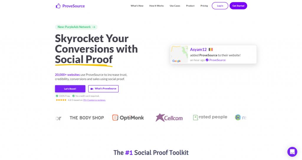 social proof tools 2021