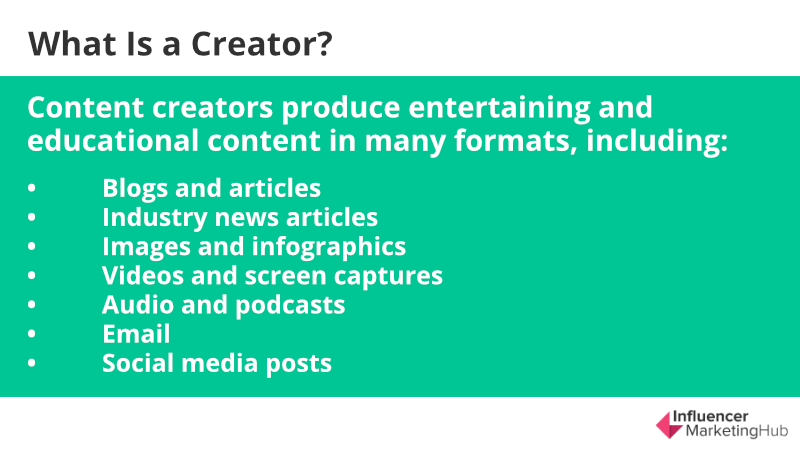 What Is A Creator How To Improve Your Content Creation Skills