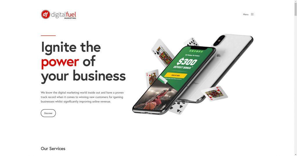 digital fuel agency - igaming