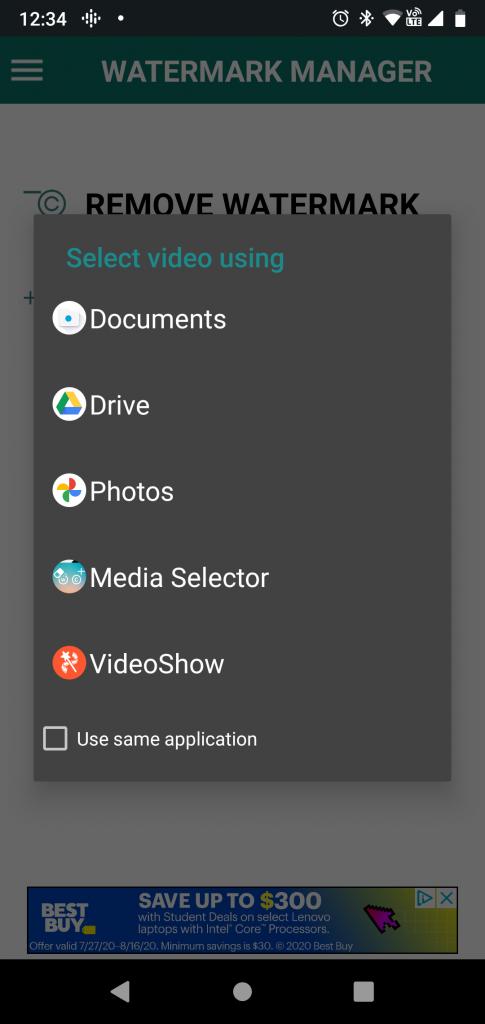 remove TikTok watermarks