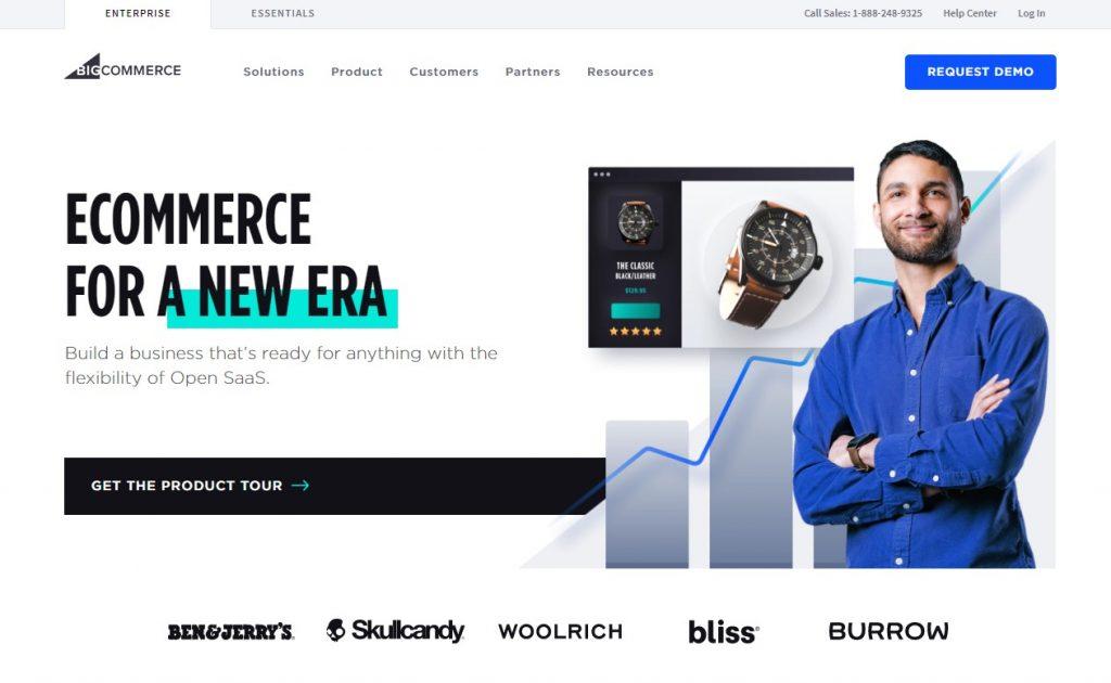ecommerce platforms compared - bigcommerce