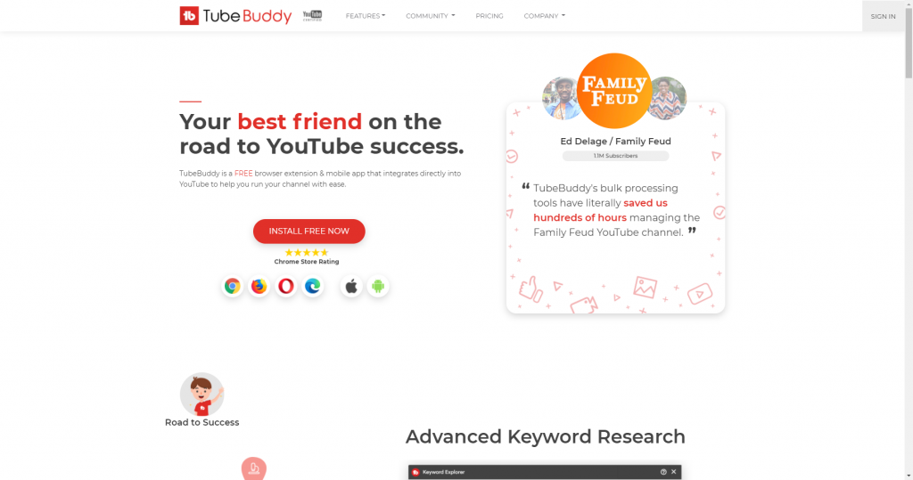 youtube seo tool tubebuddy