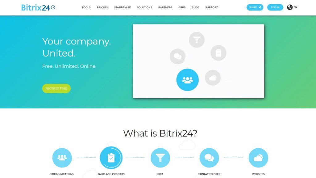email marketing platform - bitrix