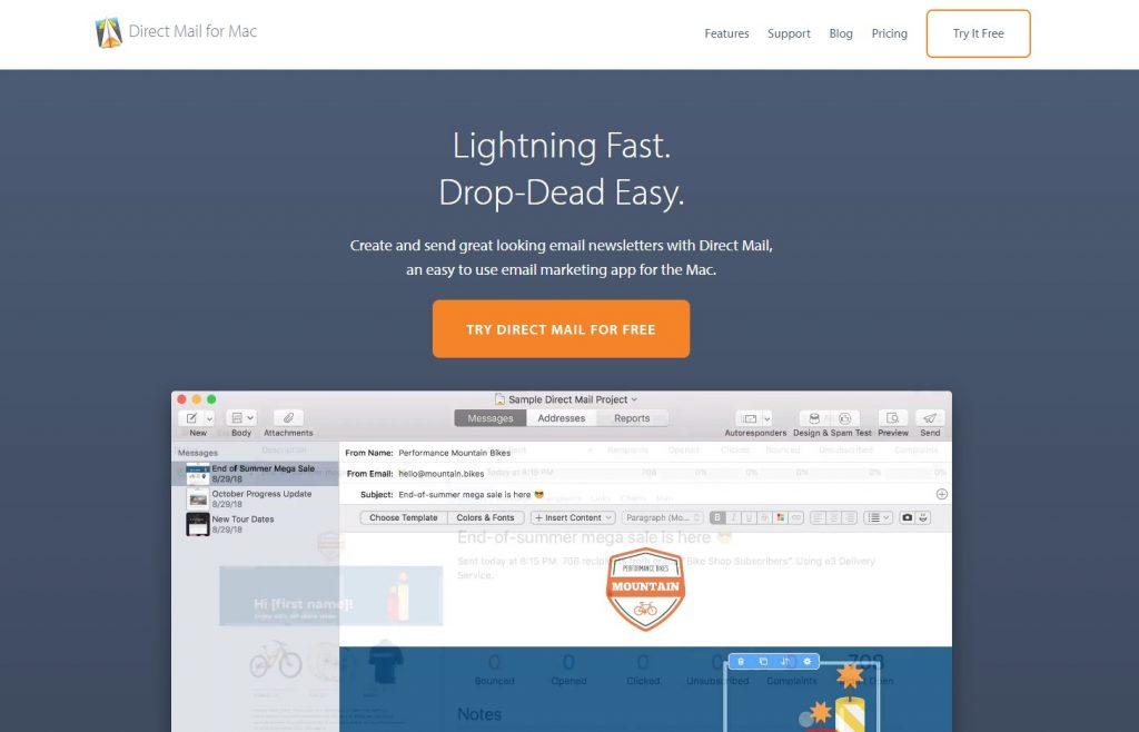 email marketing platform - directmail