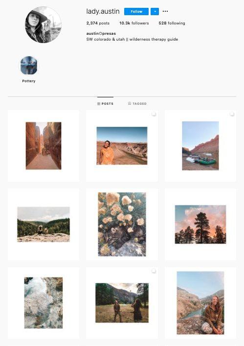 instagram grid examples
