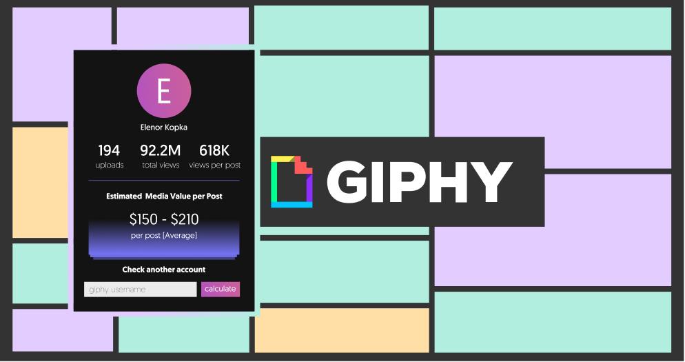 GIPHY Money Calculator